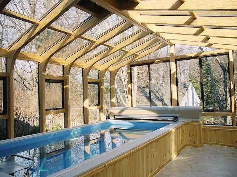Mass Connecticut Rhode Island Endless Infinity Swim-In-Place Indoor Pool Enclosure