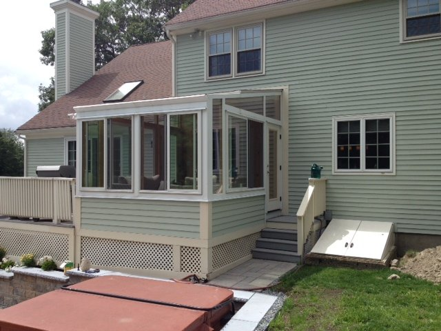 Massachusetts Replace Screen-In Porch with a Living Room House Addition