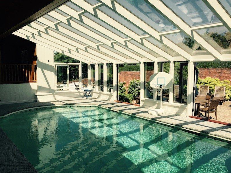 Massachusetts Interior Indoor Pool Enclosure Room Addition